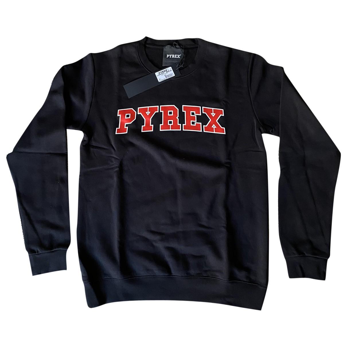 Pyrex \N Pullover.Westen.Sweatshirts  in  Schwarz Baumwolle