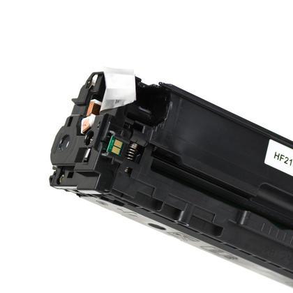 Compatible HP 131A CF210A Black Toner Cartridge - Moustache - 3/Pack