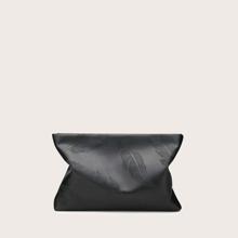 Tasche mit Feder Praegung