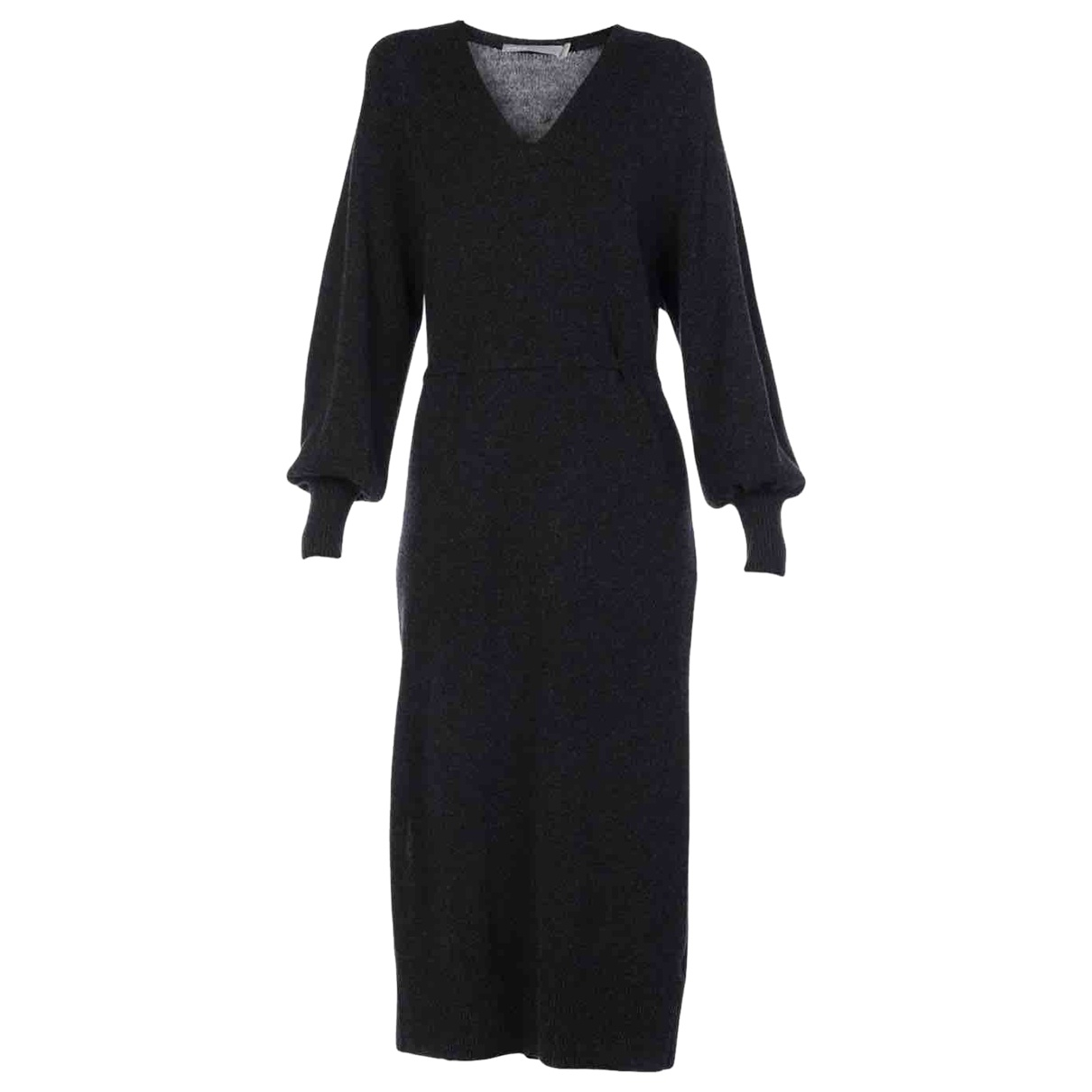 Vince \N Kleid in  Grau Kaschmir