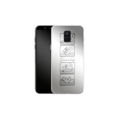 Samsung Galaxy A6 Silikon Handyhuelle - Simon´s Cat Comic von Simons Cat