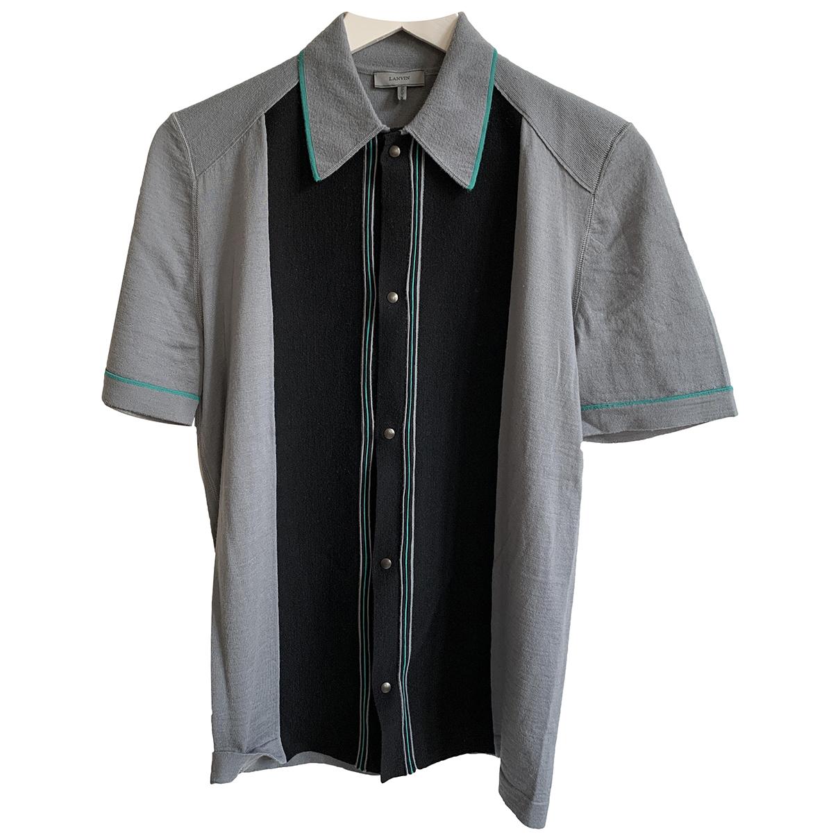 Lanvin - Pulls.Gilets.Sweats   pour homme en laine - gris