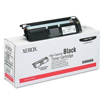 Xerox 113R00692 cartouche de toner originale noire haute capacite pour l'imprimante Phaser 6120
