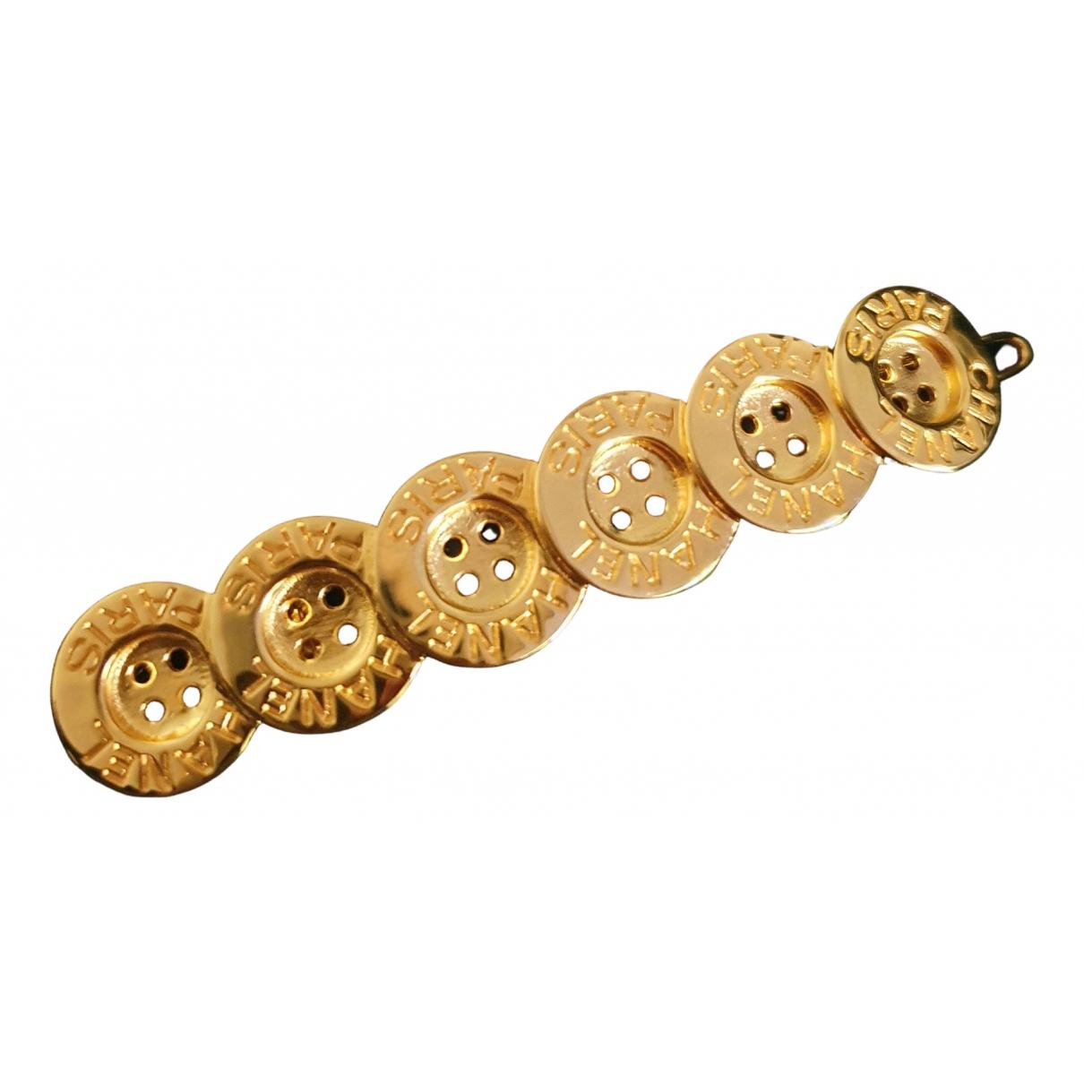 Chanel \N Haarschmuck in  Gold Metall