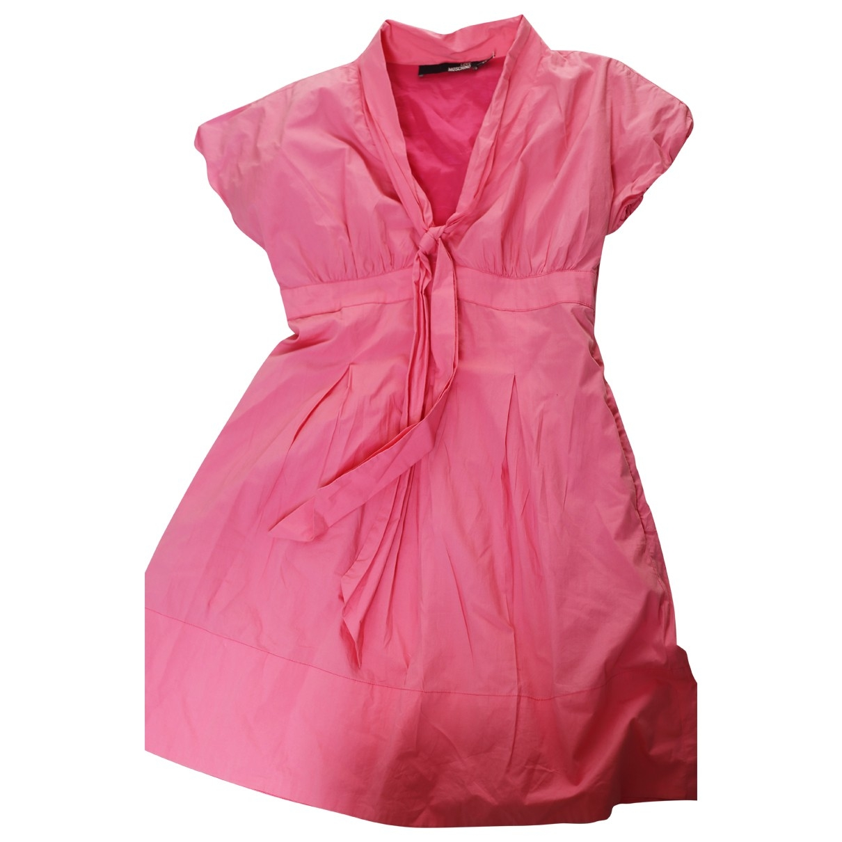 Moschino Love \N Kleid in  Rosa Synthetik