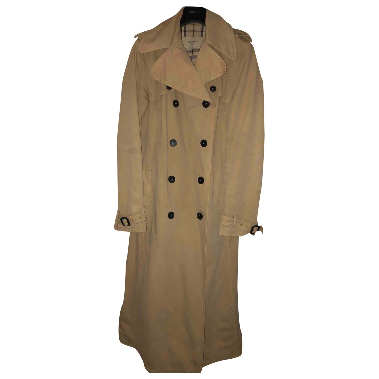 Burberry \N Beige Cotton Trench coat for Women 8 US