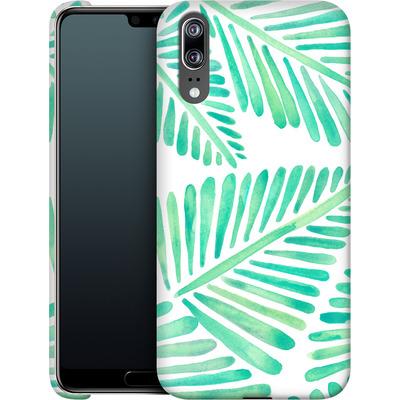 Huawei P20 Smartphone Huelle - Banana Leaves Seafoam von Cat Coquillette