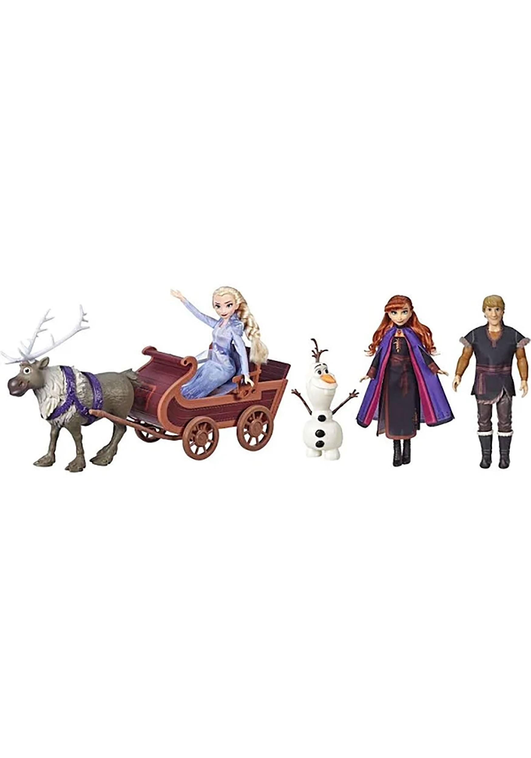 Frozen II Sledding Adventures Doll Pack
