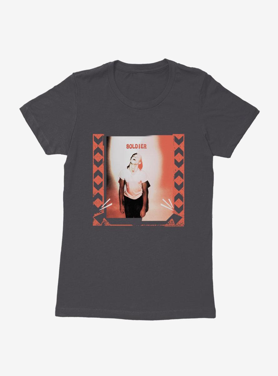Iggy Pop Soldier Womens T-Shirt