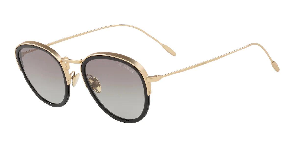 Giorgio Armani AR6068 300211 Mens Sunglasses Gold Size 50