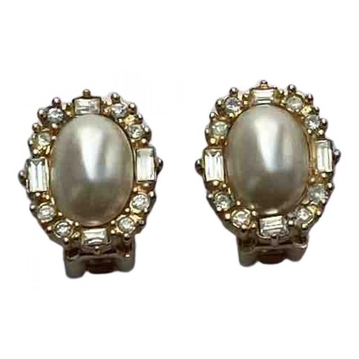 Christian Dior \N OhrRing in  Gold Vergoldet
