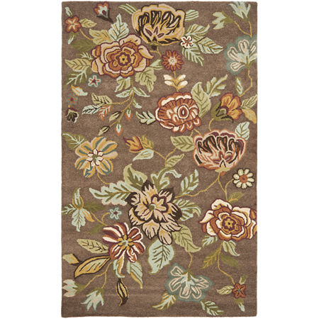 Safavieh Searlait Hand Hooked Area Rug, One Size , Brown