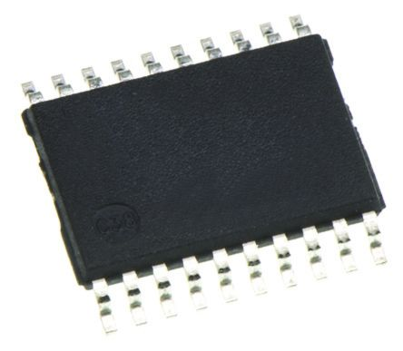 Toshiba 74VHC573FT 8bit-Bit Octal D Type Latch, Transparent D Type, 20-Pin TSSOP (2500)