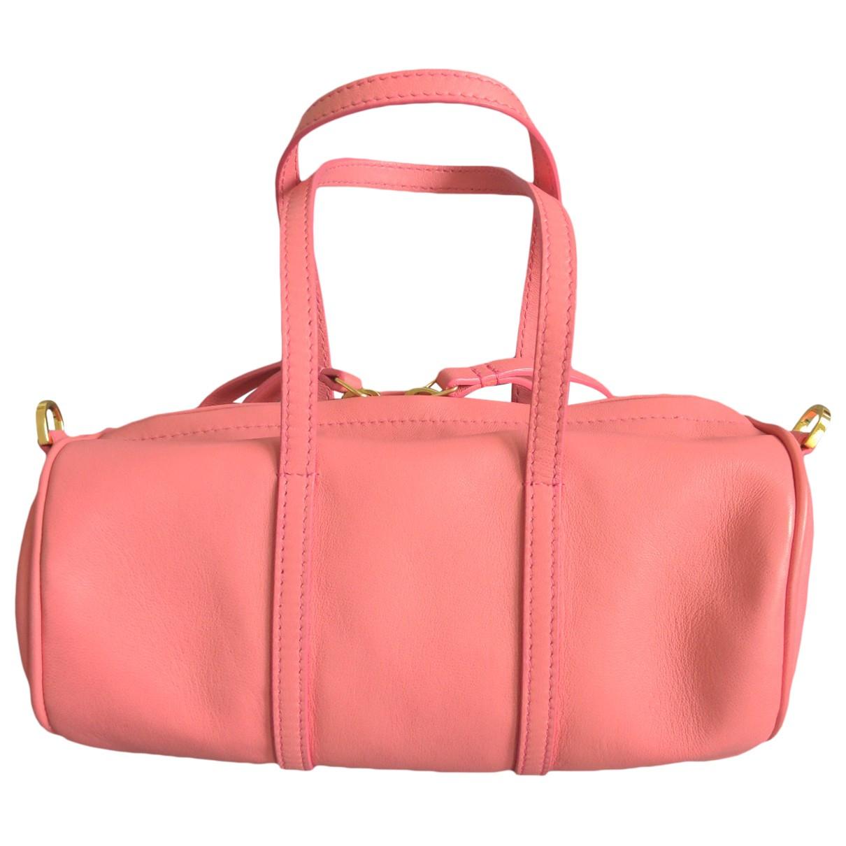 Mansur Gavriel \N Handtasche in  Rosa Leder