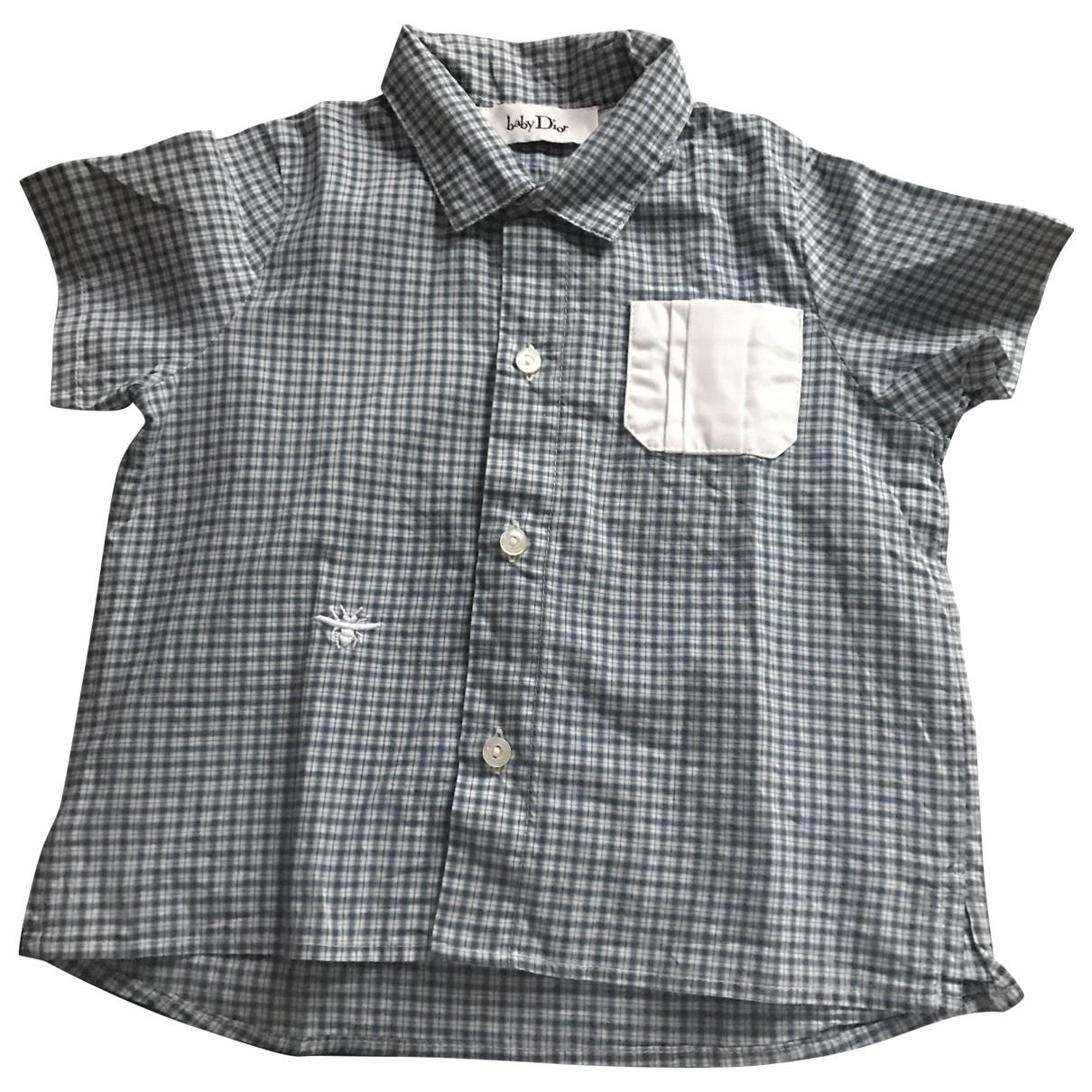 Baby Dior - Top   pour enfant en coton - bleu
