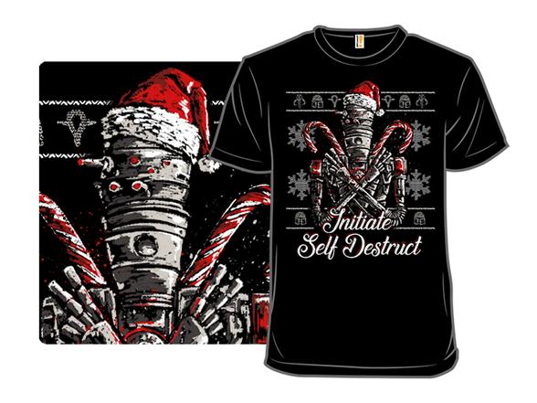 Christmas Droid T Shirt
