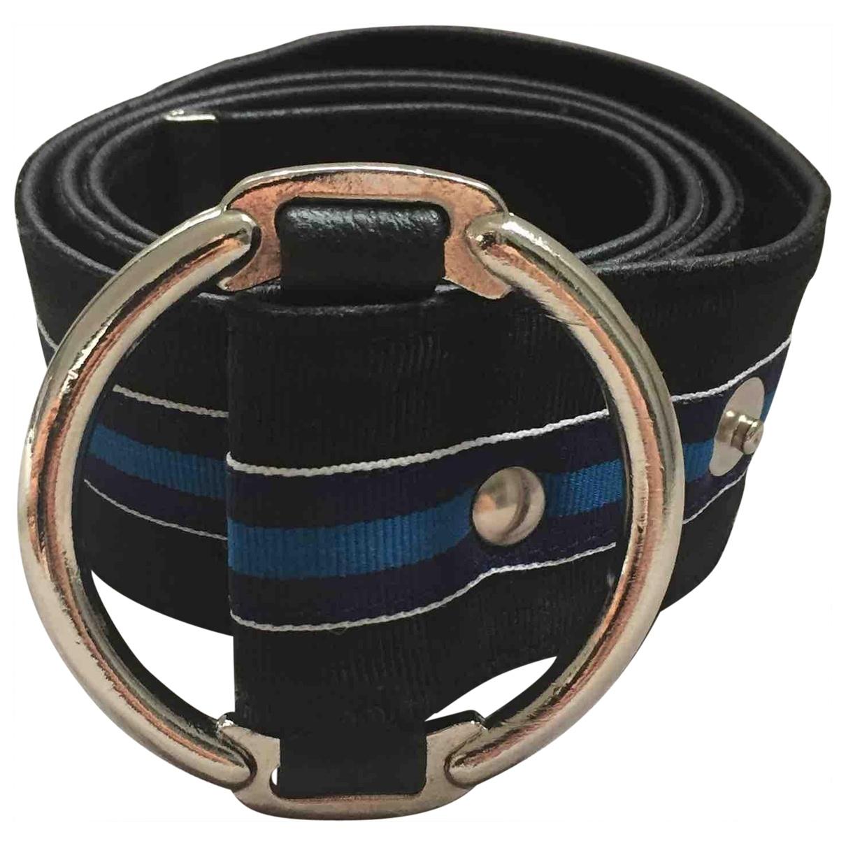 Lanvin \N Black Cloth belt for Women S
