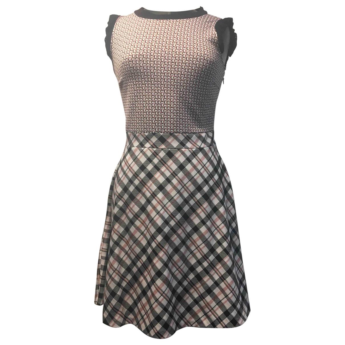 Pinko \N Multicolour Cotton - elasthane dress for Women 40 FR