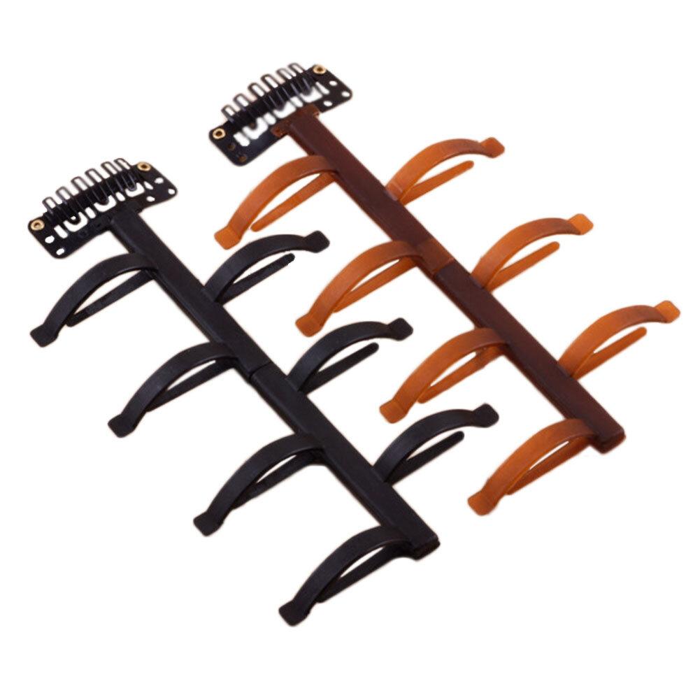Hair Braid Twist Styling Tools Headbands Bun Maker Plastic Women Hair Accessories Black Coffee