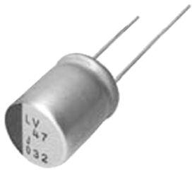Nichicon 56μF Polymer Capacitor 35V dc, Through Hole - PLV1V560MCL1 (2)