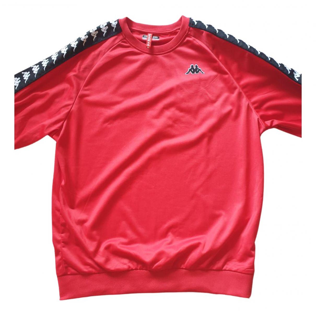 Kappa \N Pullover.Westen.Sweatshirts  in  Rot Polyester