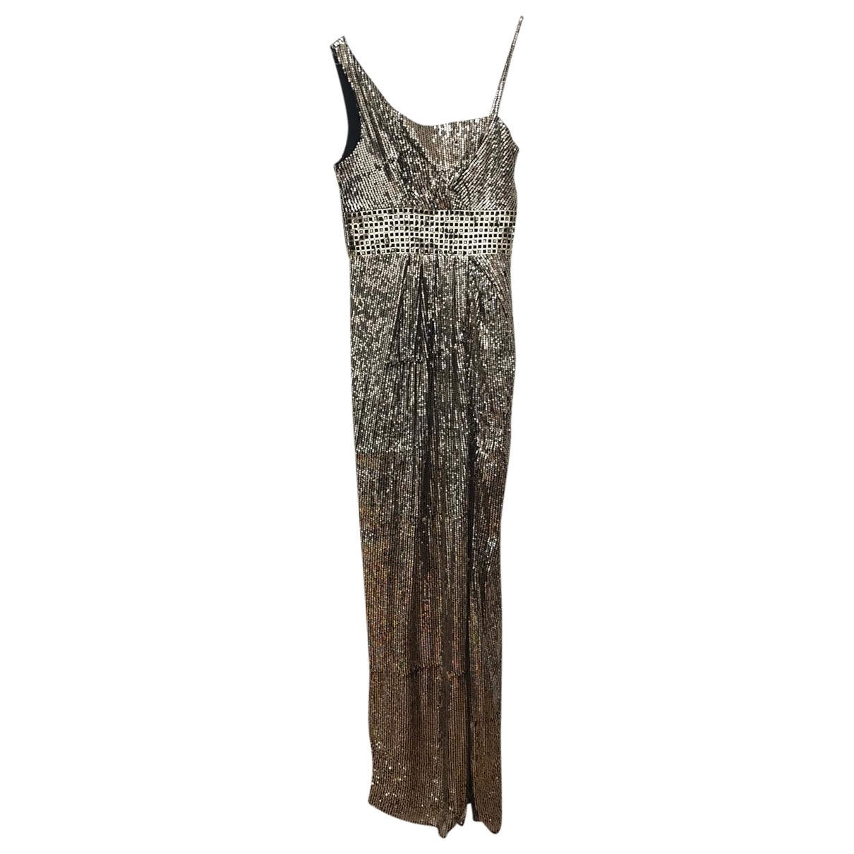 Versace \N Gold Glitter dress for Women 40 FR