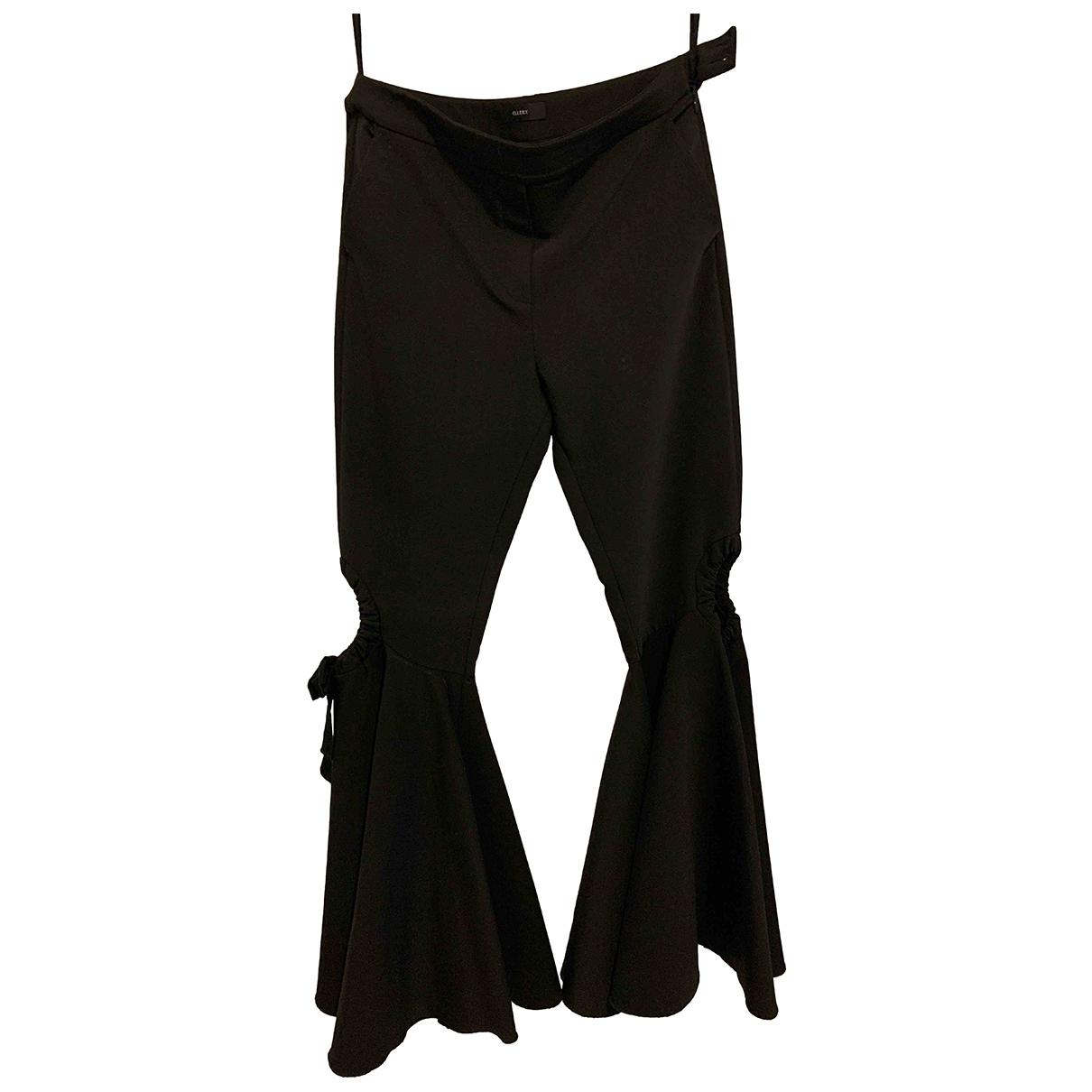 Ellery \N Black Trousers for Women 14 UK