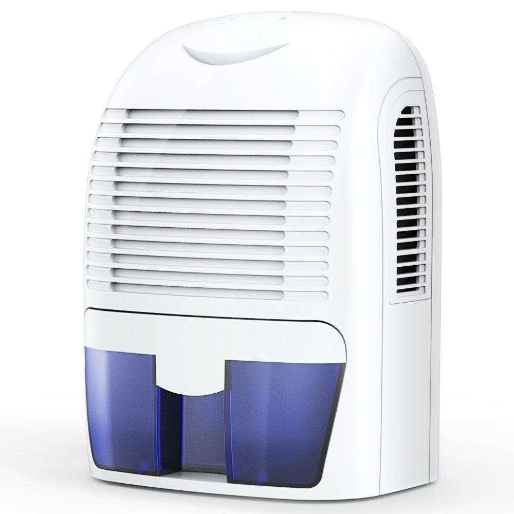 Hysure 1500ml Air Dehumidifier 2200 Cubic Feet Compact And Portable For Damp Air