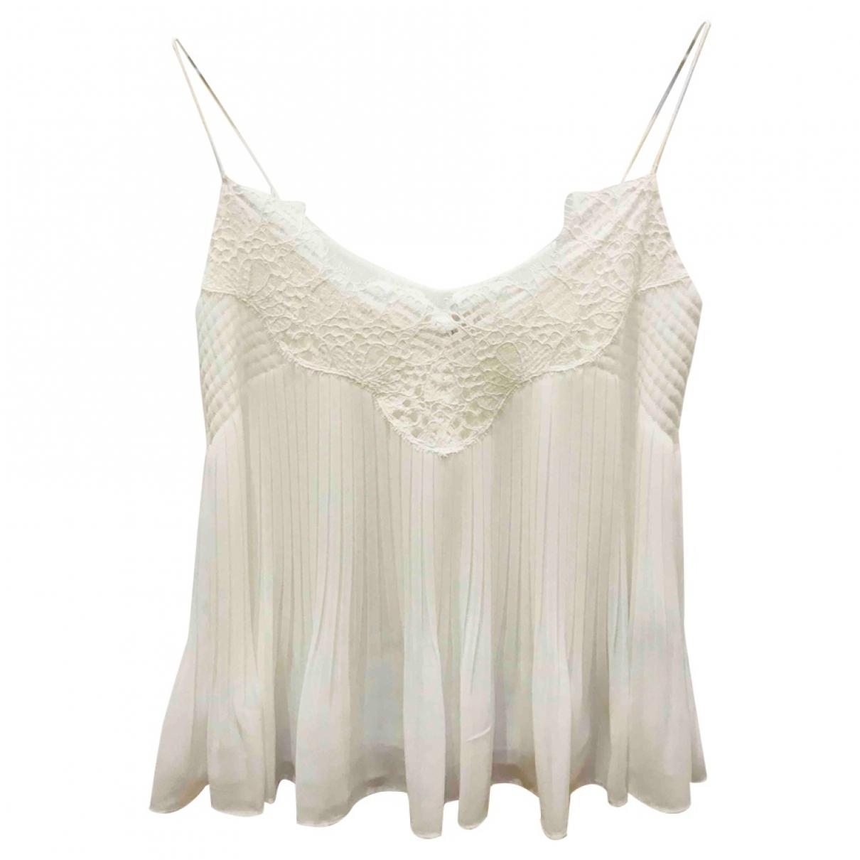 Massimo Dutti - Top   pour femme - blanc