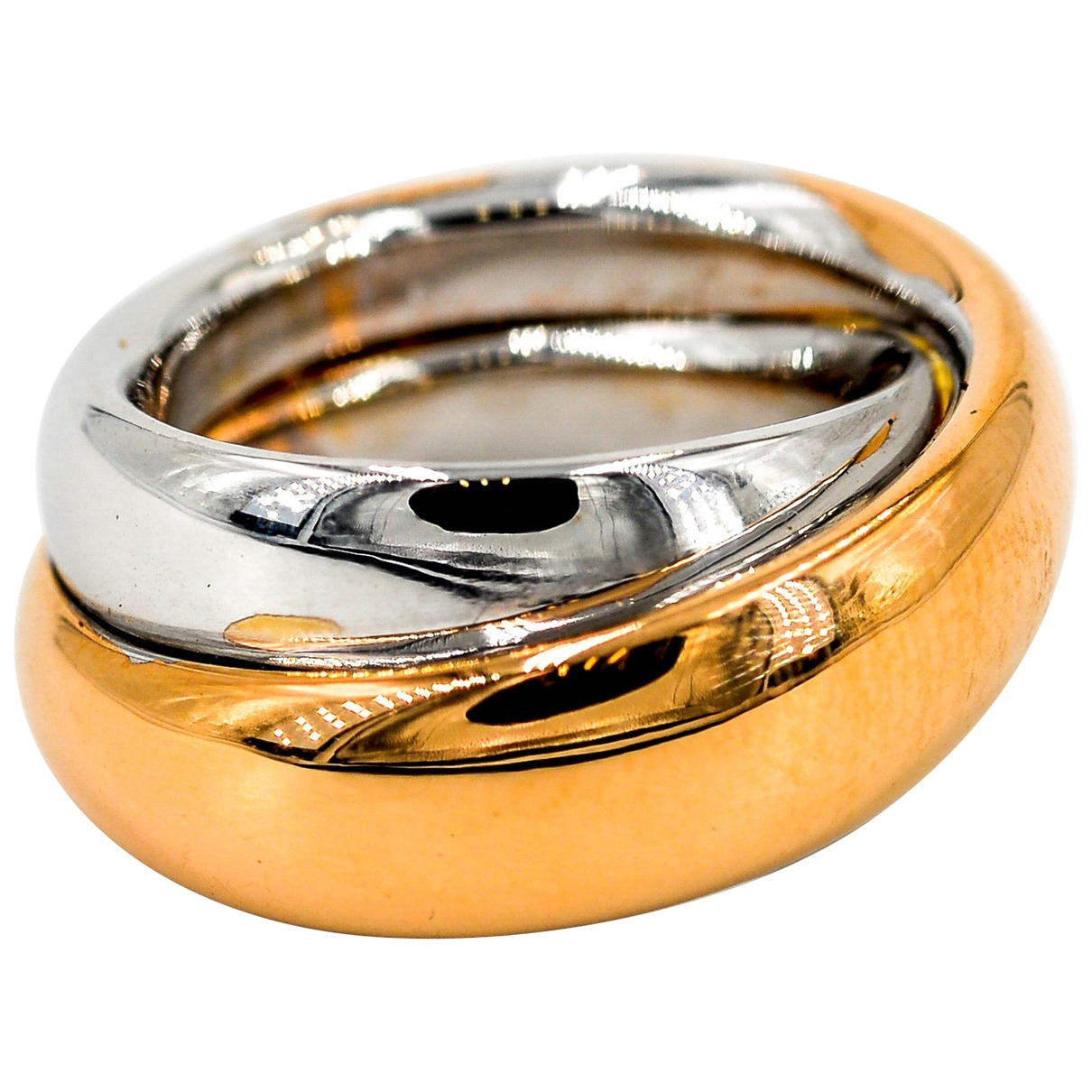 Autre Marque \N Ring in  Silber Rosegold