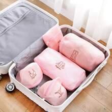 5pcs Mesh Laundry Bag