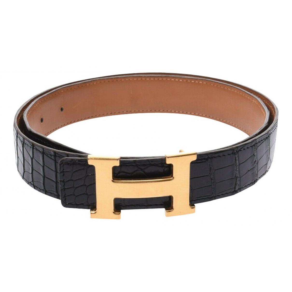 Cinturon de Cocodrilo Hermes