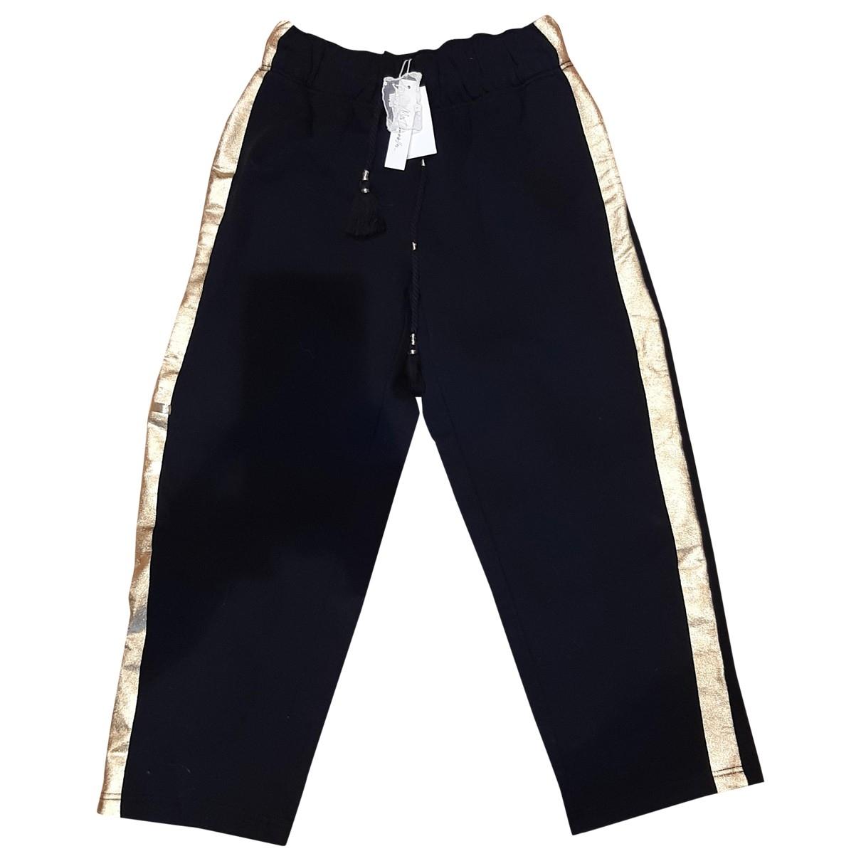 Mes Demoiselles ... \N Black Trousers for Women 1 0-5