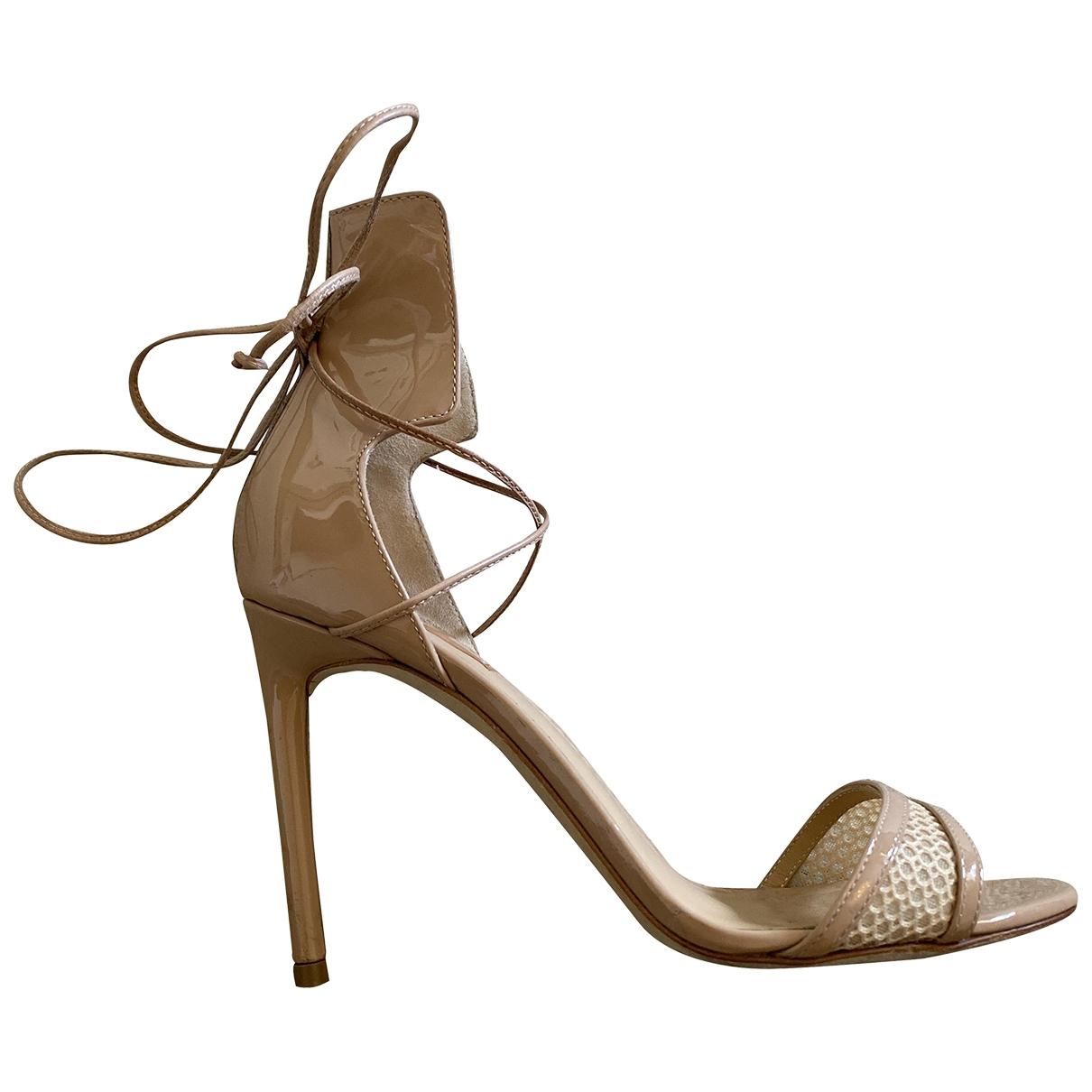 Sandalias de Charol Reed Krakoff