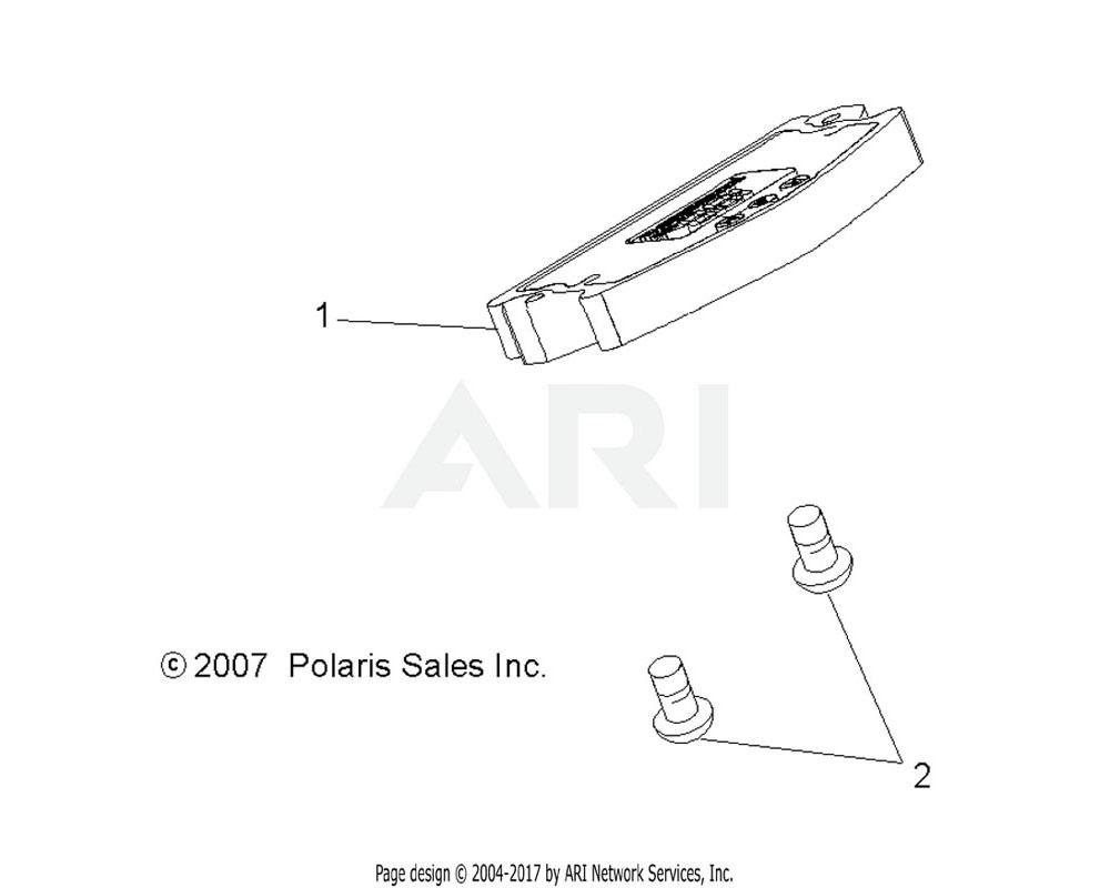 Polaris OEM 3280470 Cluster, Instrument