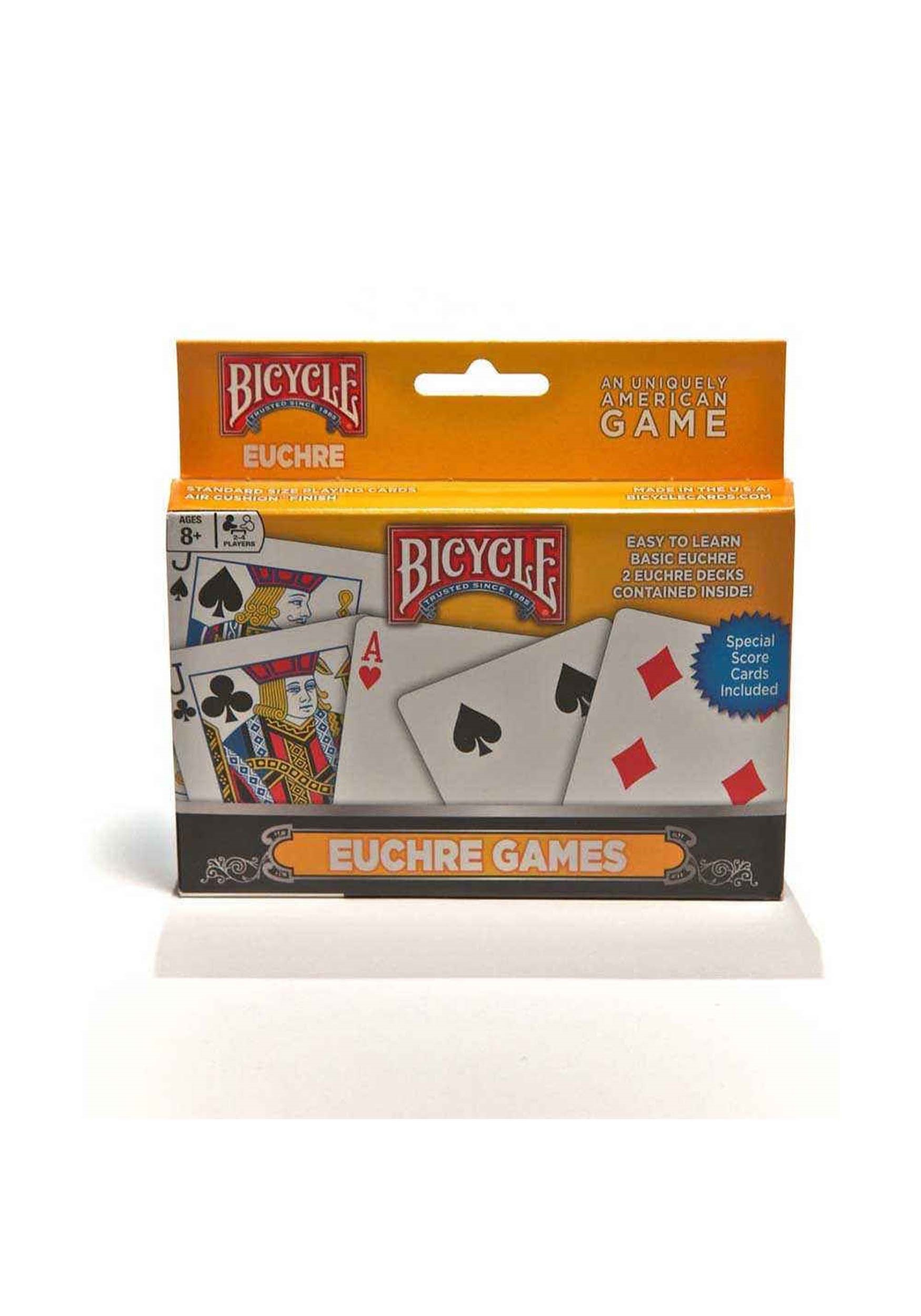 2-Pack Bicycle Euchre Card Games