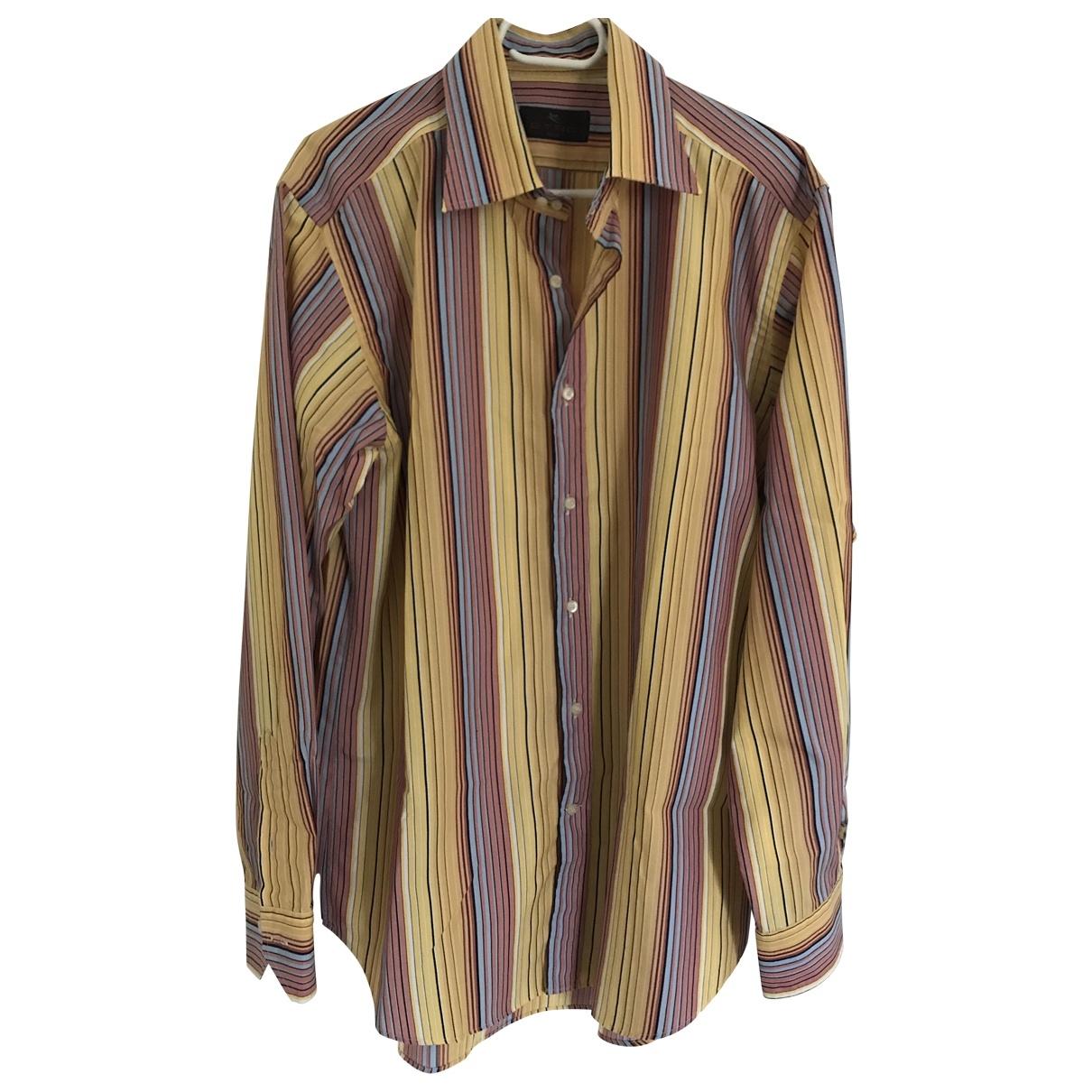 Etro \N Multicolour Cotton Shirts for Men XL International