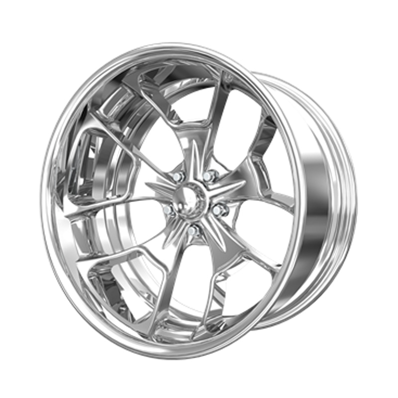 Billet Specialties VDR66215Custom Reaper Extreme Polished 20x15 Wheel