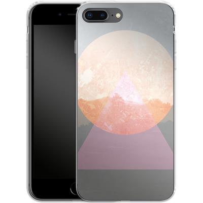 Apple iPhone 8 Plus Silikon Handyhuelle - Landscape Abstract 3 von Mareike Bohmer