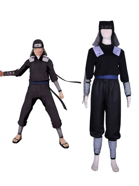 Milanoo Naruto Cosplay Sarutobi Hiruzen Sets Fighting Cosplay Costume