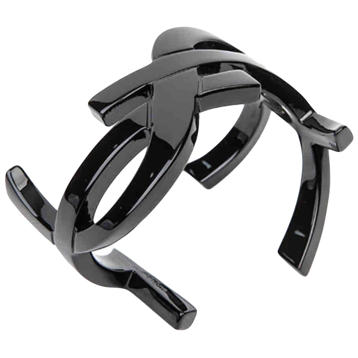 Yves Saint Laurent - Bracelet   pour femme en metal - noir