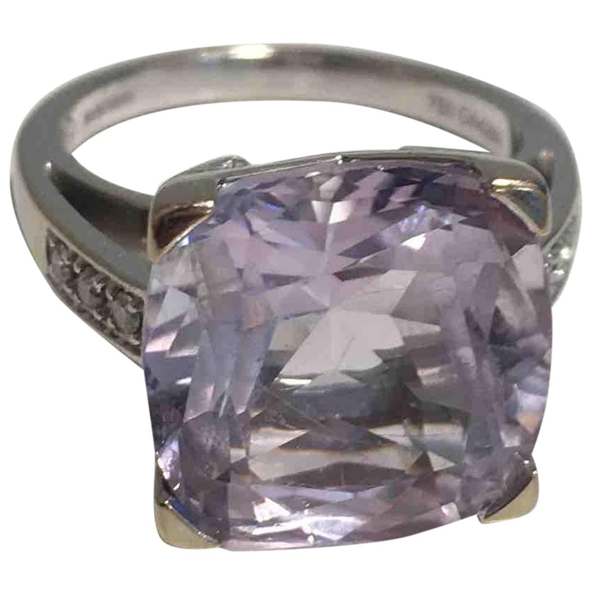 Mauboussin - Bague Gueule dAmour pour femme en or blanc - violet