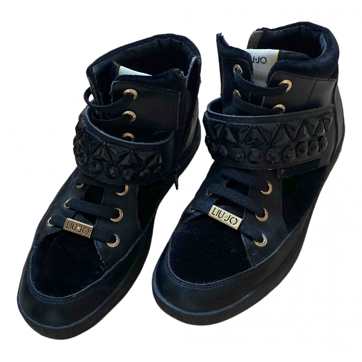 Liu.jo \N Sneakers in  Schwarz Samt