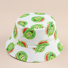 Cartoon Watermelon Bucket Hat