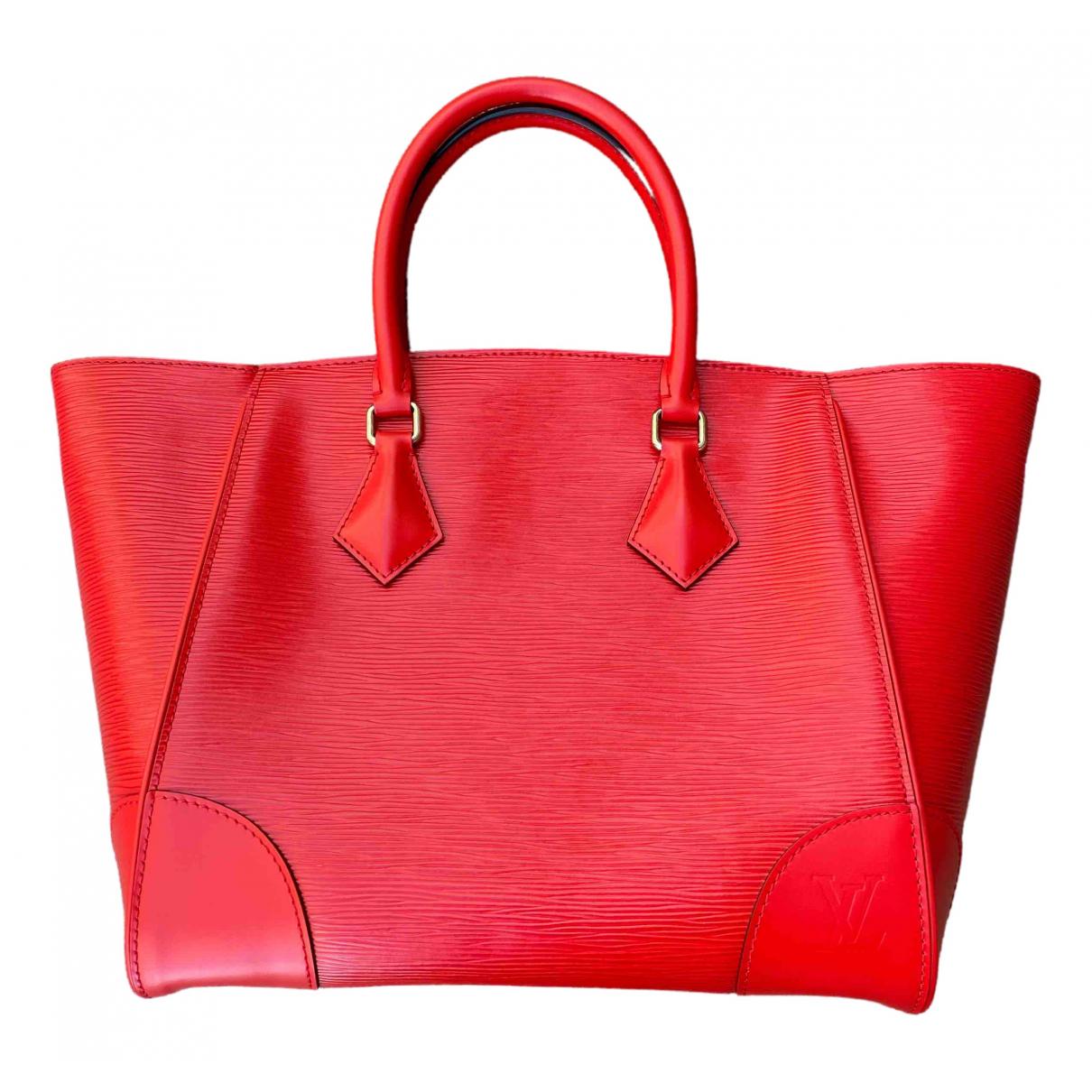 Louis Vuitton Phenix Red Leather handbag for Women \N