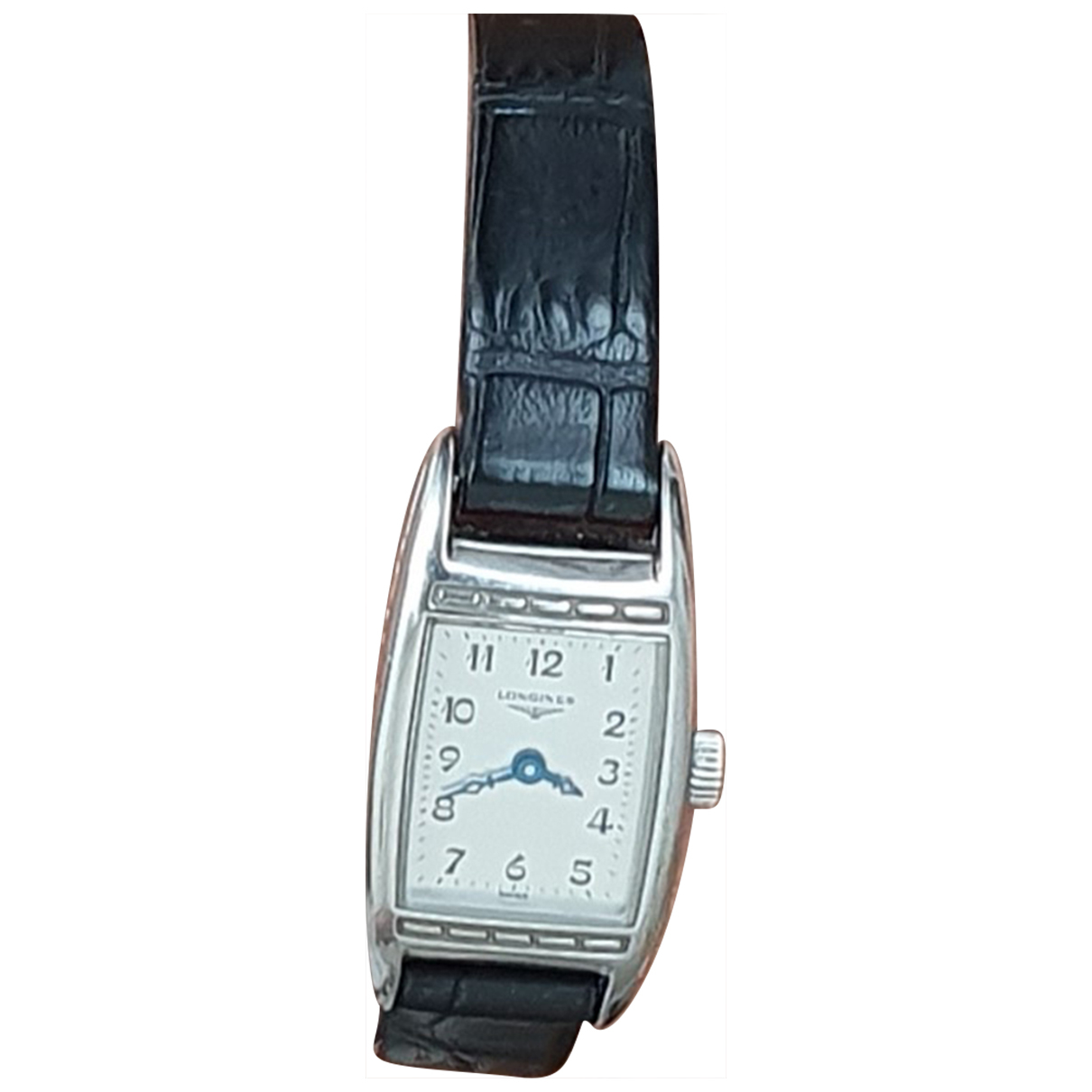 Longines N Silver Steel watch for Women N