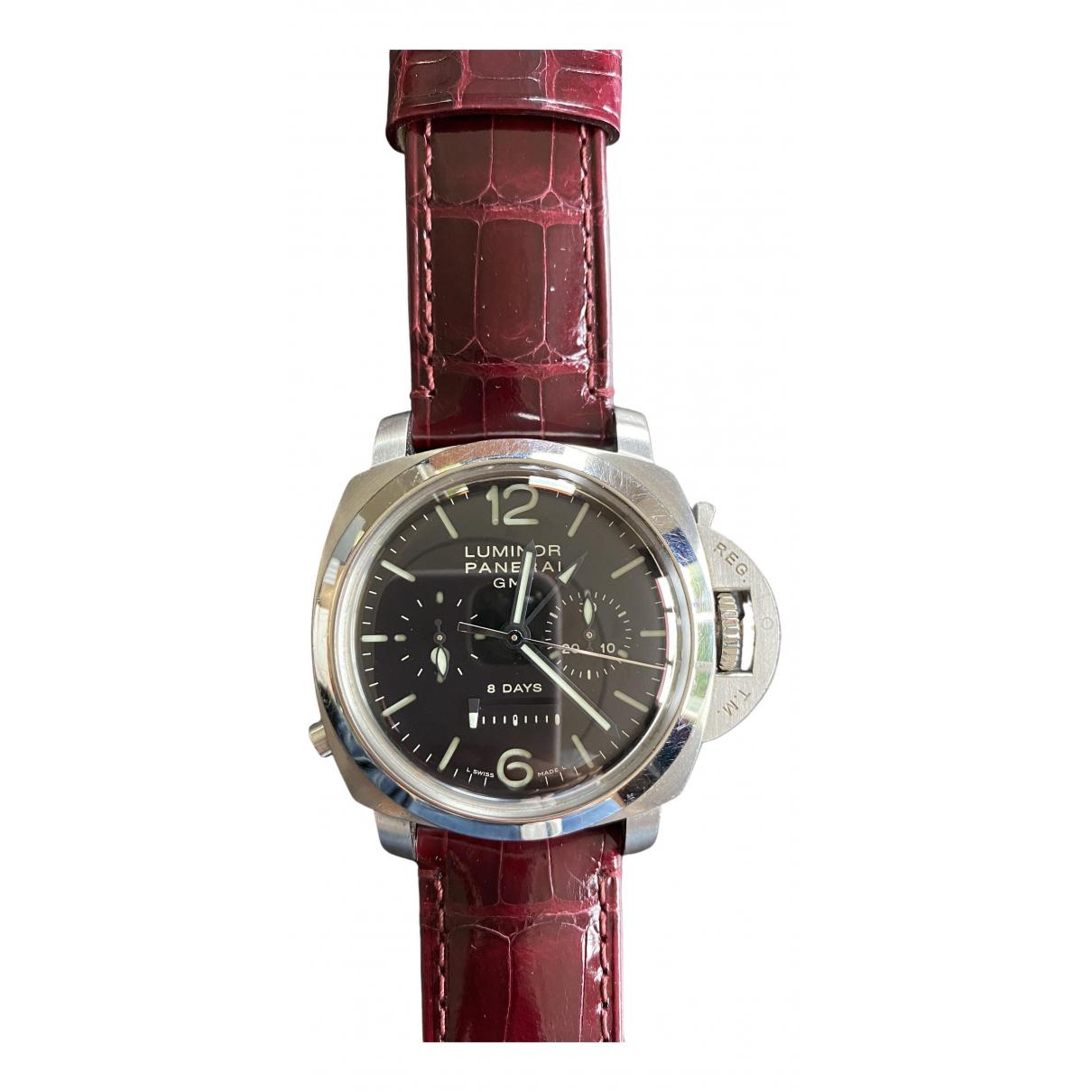 Panerai Luminor 1950  Black Steel watch for Men \N
