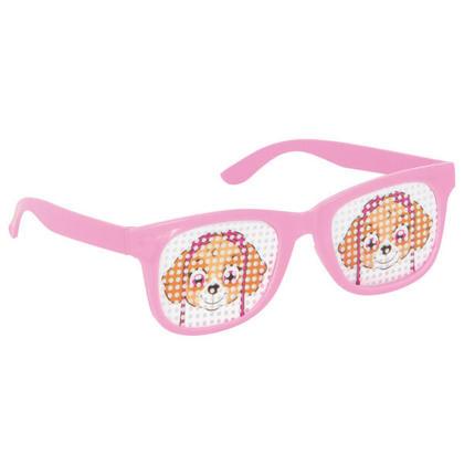 Paw Patrol Girl 4 Pinhole Novelty Glasses For Birthday Party