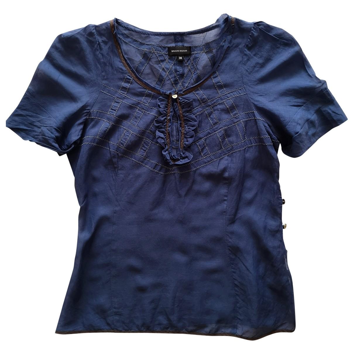 Bruuns Bazaar - Top   pour femme - bleu