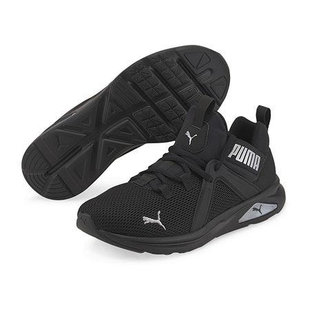 Puma Enzo Womens Running Shoes, 7 1/2 Medium, Black